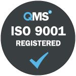 QMS ISO 9001 Registered logo